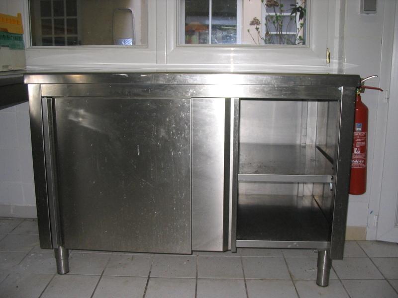 Mat riels de cuisine pas cher meuble rangement cuisine 2 portes 1 tag re i - Buffet occasion pas cher ...